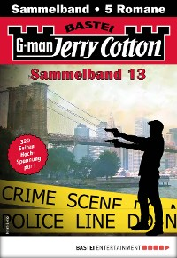 Cover Jerry Cotton Sammelband 13 - Krimi-Serie