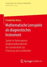 Cover Mathematische Lernspiele als diagnostisches Instrument