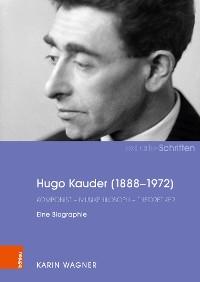 Cover Hugo Kauder (1888-1972)
