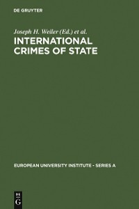 Cover International Crimes of State