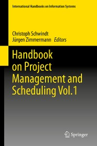 Cover Handbook on Project Management and Scheduling Vol.1