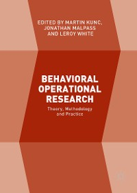 Cover Behavioral Operational Research