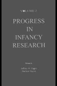 Cover Progress in infancy Research