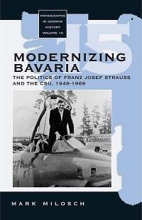 Cover Modernizing Bavaria