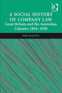 Cover Social History of Company Law