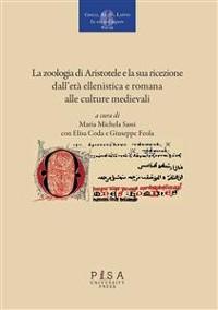 Cover La zoologia di Aristotele e la sua ricezione, dall'età ellenistica e romana alle culture medioevali