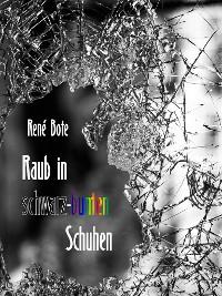 Cover Raub in schwarz-bunten Schuhen
