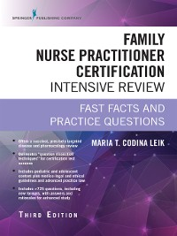 Cover Family Nurse Practitioner Certification Intensive Review