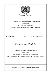 Cover Treaty Series 2990/Recueil des Traités 2990