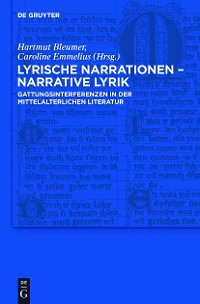 Cover Lyrische Narrationen – narrative Lyrik
