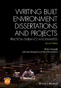 Cover Writing Built Environment Dissertations and Projects