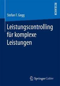 Cover Leistungscontrolling für komplexe Leistungen