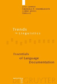 Cover Essentials of Language Documentation