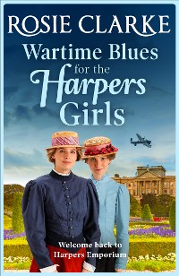 Cover Wartime Blues for the Harpers Girls