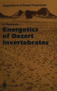 Cover Energetics of Desert Invertebrates