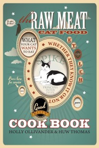 Cover Raw Meat Cat Food Cookbook