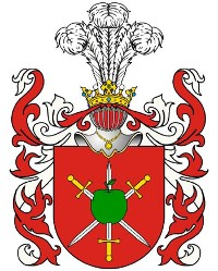 Cover The noble Polish family Hurko. Die adlige polnische Familie Hurko.