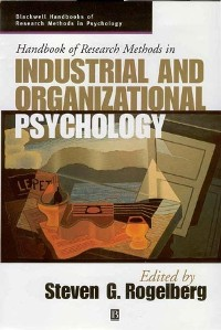 Cover Handbook of Research Methods in Industrial and Organizational Psychology