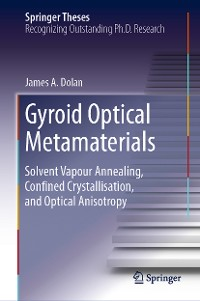 Cover Gyroid Optical Metamaterials