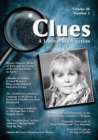 Cover Clues: A Journal of Detection, Vol. 36, No. 2 (Fall 2018)