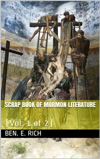 Cover Scrap Book of Mormon Literature (Vol. 1 of 2) / Religious Tracts
