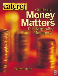 Cover Money Matters for Hospitality Managers