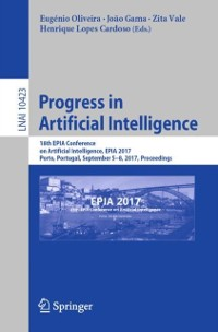Cover Progress in Artificial Intelligence