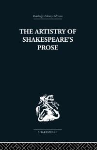 Cover Artistry of Shakespeare's Prose