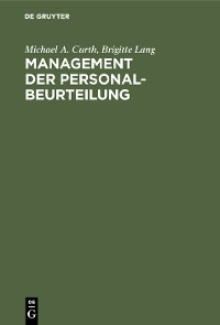 Cover Management der Personalbeurteilung