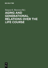 Cover Aging and Generational Relations over the Life Course