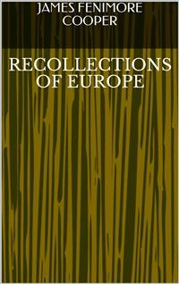 Cover Recollections of Europe