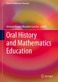 Cover Oral History and Mathematics Education