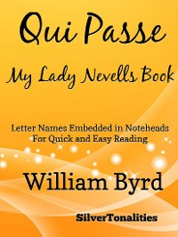 Cover Qui Passe My Lady Nevells Book Easy Piano Sheet Music