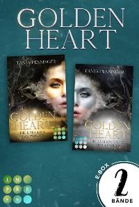 """Cover Golden Heart: Sammelband der packend-romantischen Fantasy-Reihe """"Golden Heart"""""""