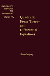 Cover Quadratic Form Theory and Differential Equations