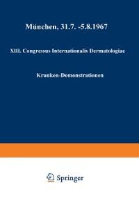 Cover XIII. Congressus Internationalis Dermatologiae