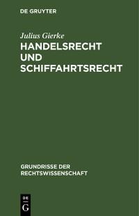 Cover Handelsrecht und Schiffahrtsrecht