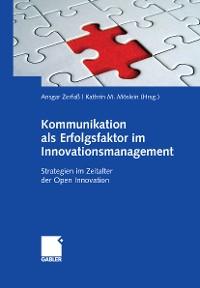 Cover Kommunikation als Erfolgsfaktor im Innovationsmanagement