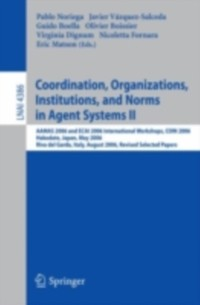 Cover Coordination, Organizations, Institutions, and Norms in Agent Systems II
