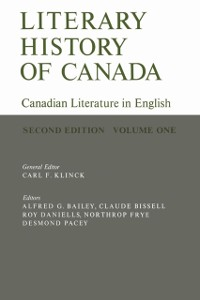 Cover Literary History of Canada
