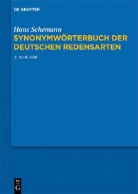 Cover Synonymwörterbuch der deutschen Redensarten