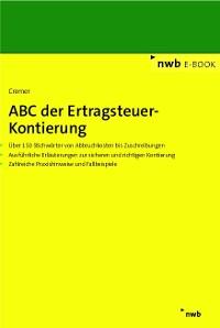 Cover ABC der Ertragsteuer-Kontierung