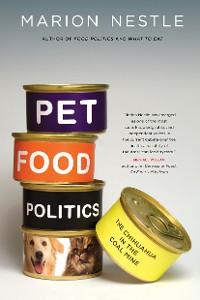 Cover Pet Food Politics