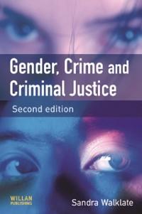 Cover Gender, Crime and Criminal Justice