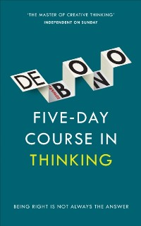 Cover Five-Day Course in Thinking