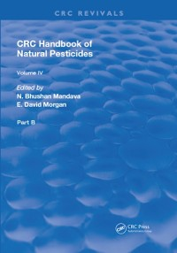 Cover Handbook of Natural Pesticides