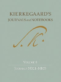 Cover Kierkegaard's Journals and Notebooks, Volume 8