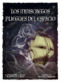 Cover Los indiscretos pliegues del espacio - comic en color