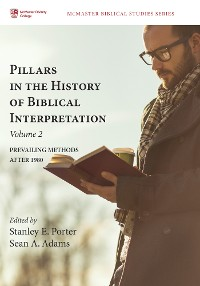 Cover Pillars in the History of Biblical Interpretation, Volume 2