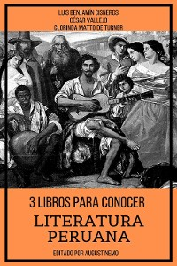 Cover 3 Libros para Conocer Literatura Peruana
